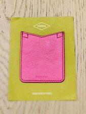 Special Offer! Fossil Phone Case Pocket Sticker Neon Pink