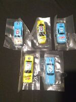 Lot Of 5 Richard Petty Hotwheels Nascar collectables Diecast