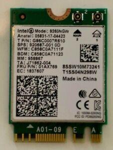 Intel 9260NGW WiFi 802.11AC Wireless adaptor card 9260AC