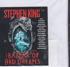 THE BAZAAR OF BAD DREAMS by STEPHEN KING~UNABRIDGED CD AUDIOBOOK