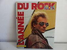Livre L année du rock 84 85 Paul Marjorie ALESSANDRINI MICHAEL JACKSON STING