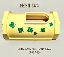 LOT LEGO BELVILLE 2 MURS DE TOUR JAUNE N°33213 POUR 5805 5807 5808 5826 5833