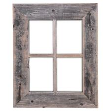 Old Rustic Window Barn Wood Frames 100% Recycled Weathered Decor Made in the USA