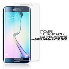 10X QUALITY CLEAR SCREEN PROTECTOR FLAT COVER FILM FOR SAMSUNG GALAXY S6 EDGE