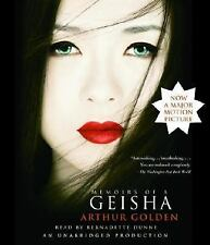 Memoirs of a Geisha by Arthur Golden (2005, CD, Movie Tie-In, Unabridged)