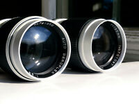 M42 SUN 2.8/135 SONNAR type, two samples, Serviced