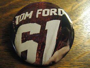 Tom Ford American Designer Sequin Dress Advertisement Pocket Lipstick Mirror