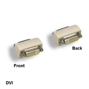 Kentek DVI 24+5 Female Coupler F/F DVI-A/DVI-D/DVI-I for TV PC Porjector Display