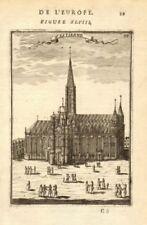 VIENNA. Cathedral of St Stephen (Stephansdom) 'St Estienne'. MALLET 1683 print
