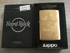 ZIPPO BRASS HARD ROCK CAFE SAN FRANCISCO