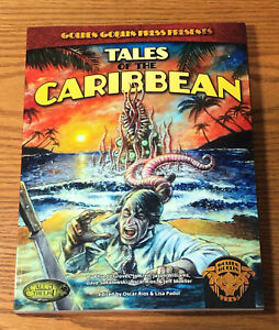 Tales of the Caribbea - Call Of Cthulhu - Golden Goblin Press - NEW