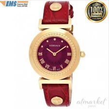 4d6619576 Anuncio nuevoVERSACE Reloj vanidad Caja de acero inoxidable P5Q80D800S800  Cinturón de piel de becerro mujer