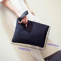 Women Leather Handbag Clutch Envelope Design Shoulder Evening Bag Purse G