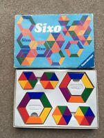 Vintage Ravensburger Game Sixo - German Game - USED Vintage 1974