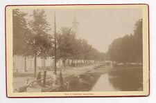 PHOTO - CABINET - P. OOSTERHUIS - AMSTERDAM - HOLLANDE - Vers 1880.