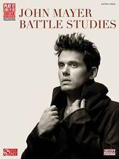 John Mayer Battle Studies Learn to Play Pop Guitar TAB Music Book