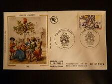 FRANCE PREMIER JOUR FDC YVERT 2701 L ARBRE DE LA LIBERTE  2,50   PARIS 1991