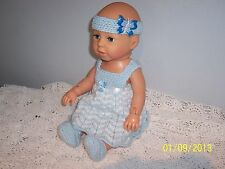 ZAPFCreations 40CM Talking/Laughing  JOINTED CHOU CHOU DOLL in New Outfit
