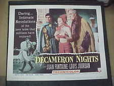 DECAMERON NIGHTS, orig 1953 LC #4 [Joan Fontaine, Louis Jourdan]