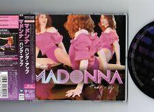 "NM! MADONNA Hung Up JAPAN 3-track 5"" CD SINGLE WPCR-12187 w/Obi+PS"