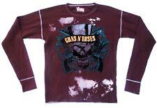 Original swag guns n roses skull rock star vip us long t-shirt s Lady: L