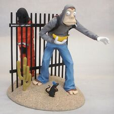 Banksy Art Army Vinyl Action Figure by Mike Leavitt NYCC JailBreak In Hand