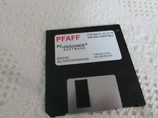 Pfaff 7550/1475 PC Designer Software ORIGINAL REPLACEMENT DISK Nice Pre Own Cond