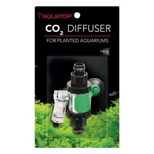 Aquatop In-line CO2 Diffuser for Canister Filters Black, Green, Silver