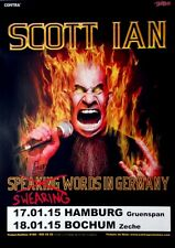 Ian, Scott-ANTHRAX - 2015-TOUR MANIFESTO-swearing words in Germany-Tour