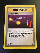 Carte Pokemon RECUPERATEUR 74/102 Rare Set de Base Edition 1 Française NEUF