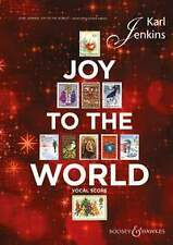 JENKINS JOY TO THE WORLD Vocal Score