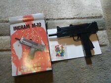 Vtg Japan Airsoft Gun Pistol Ingram M-10