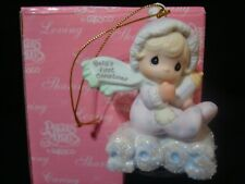 New ListingPrecious Moments Christmas Ornament-2003 Baby's 1'St Girl