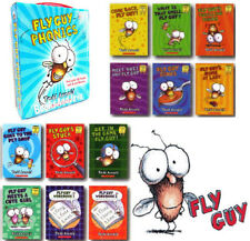Fly Guy Phonics Boxed Set 10 Books 2 Workbooks (pb) NEW