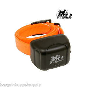 DT Systems RAPT 1400 Add-On Extra Replacement Dog Collar Receiver Orange