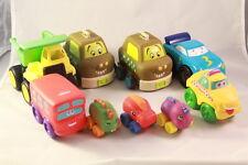 Mixed lot of 9 Baby Toddler Boys Cars Trucks Toys Tonka Hasbro Just B