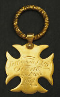 "1878, USA. ""Jefferson Literary and Debating Society"" Gold Award Medal. 4.72gm!"