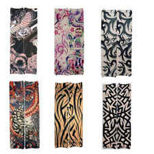 Floral Arm Durable Tattoo Sleeve Seamless Convenient Outdoor Riding Sleeve D5C