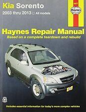 Kia Sorento 2003-2013 Repair Manual (Haynes Automotive Repair Manuals) New Paper