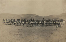 Australian Imperial Camel Corps, Western Frontier, Egypt WWI c1916 photograph