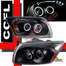 07-12 Dodge Caliber SRT4 Black Dual CCFL Halo LED Projector Headlights RH + LH