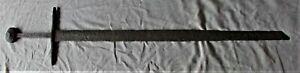 medieval sword viking helmet iron antique crusader épée