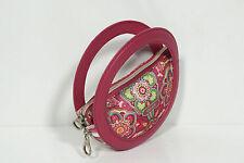 Neuf Oilily Floral Sac Pliable Sac Shopping Folding Sac de Courses (79) Rouge
