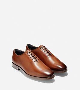 Cole Haan Jefferson Grand Wholecut Oxford - Men's 9M - British Tan Leather
