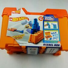 Hot Wheels Track Builder Barrel Box New Sealed but Torn Package Track Builder