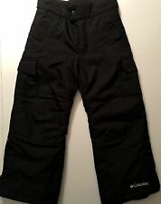 NWOT COLUMBIA 4/5 omni-shield Insulated SNOW/SKI COLD pants UNISEX Black