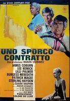 HARD CONTRACT Italian 1F B movie poster 27x38 JAMES COBURN LEE REMICK 1969