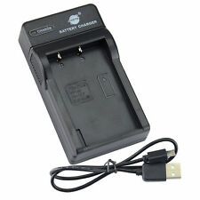 DSTE UDC84 USB Battery Charger For Olympus PS-BLS1 PS-BLS5 BLS-50 Camera