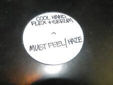 "Cool Hand Flex / Serum  – Must Feel (Serum RMX) 2008 USED 12"" Mac II recordings"