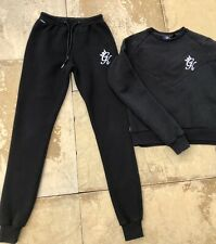 Gym King Black Tracksuit Size 6 - Perfect